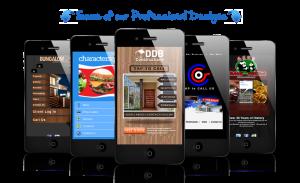 Extreme Reverse Responsive Mobile Websites