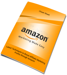 Amazon Marketing Cheat Sheet