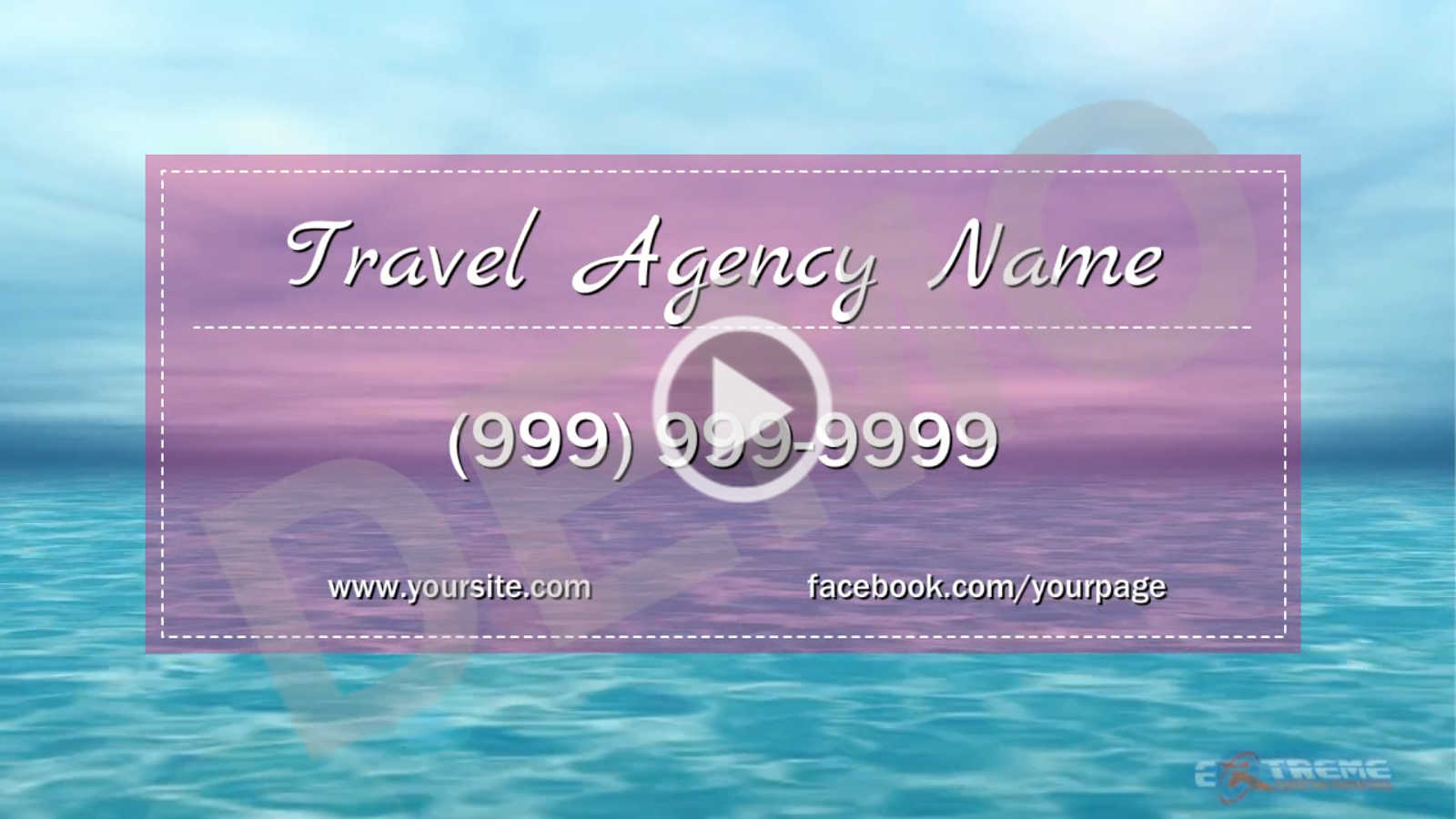 TRAVEL AGENCY SALES VIDEOS